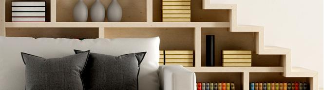 décoration pour salon tendance en bois
