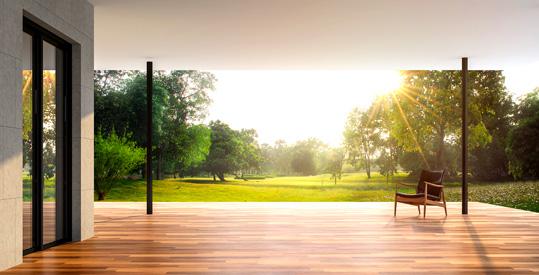 Construction d'une terrasse en bois - Vis ROCKET terrasse